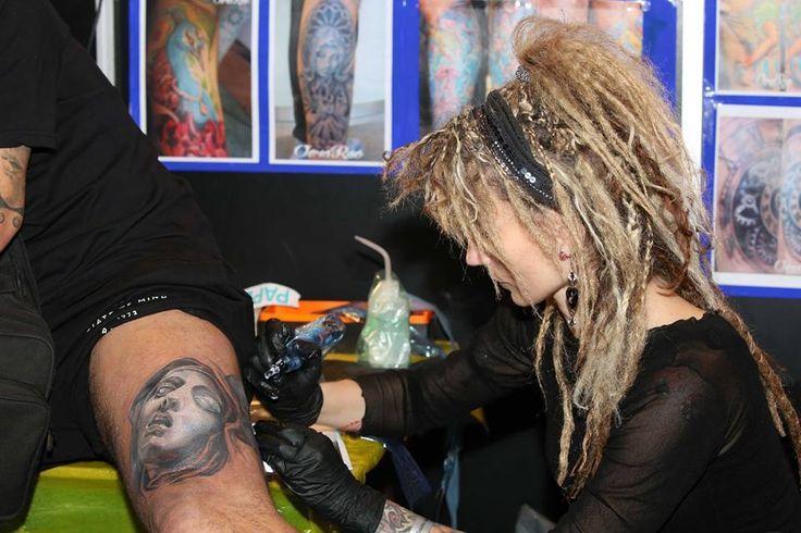 Amsterdam tattoo convention Vera Rao