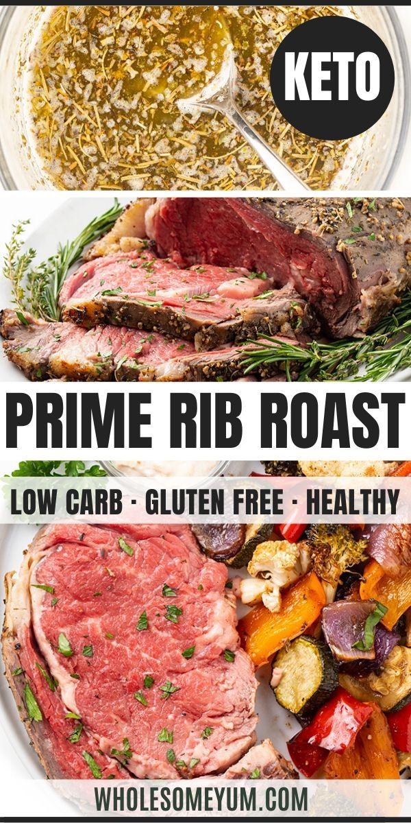 Perfect Garlic Butter Prime Rib Roast Recipe Rib Roast Recipe Prime Rib Roast Prime Rib Recipe