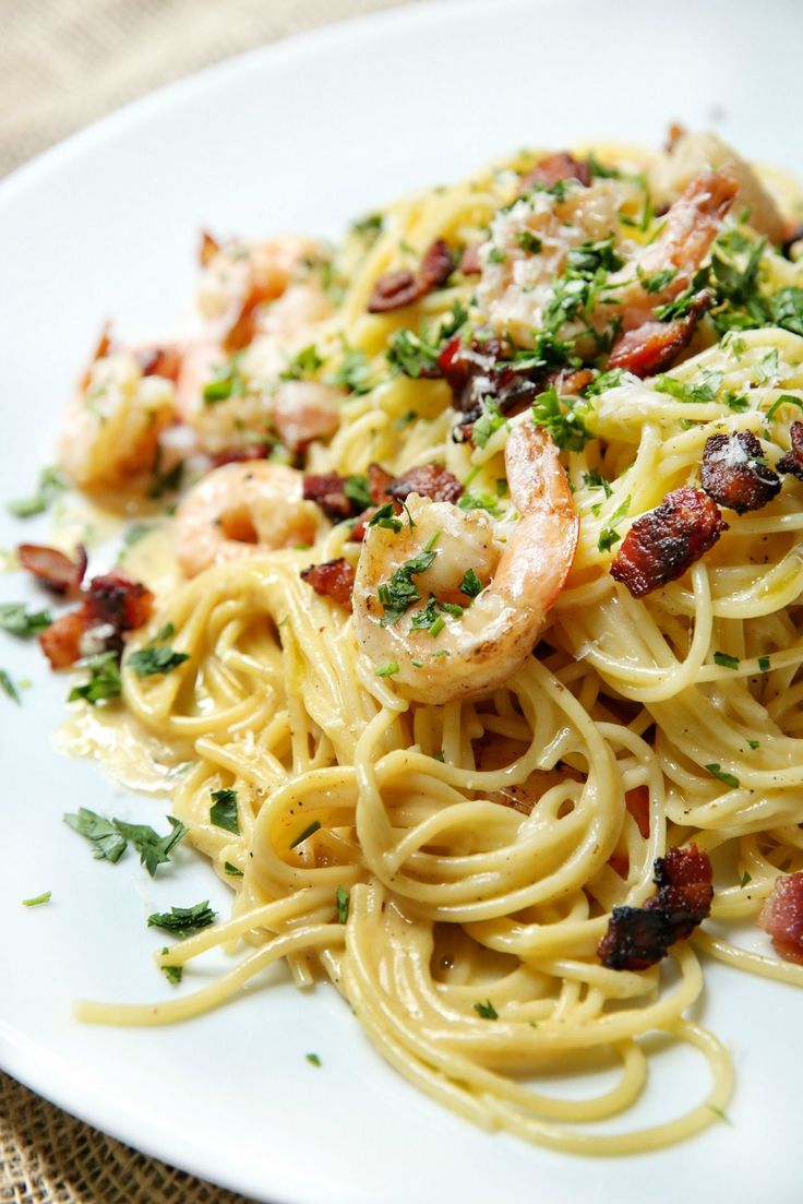 Shrimp Spaghetti Carbonara  - Delish.com