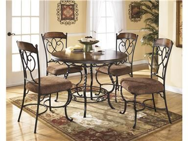 Awesome Shop For Ashley Round Drm Table Set Cn D With Woodstock Furniture  Outlet Dallas Ga