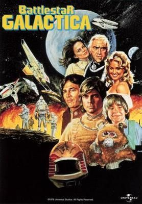 Battlestar Galactica Poster 70'S 24in x36 in
