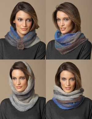 Gebreide kraag in silk-mohair - double silk mohair cowl > KVLV > Zo gemaakt (hva)