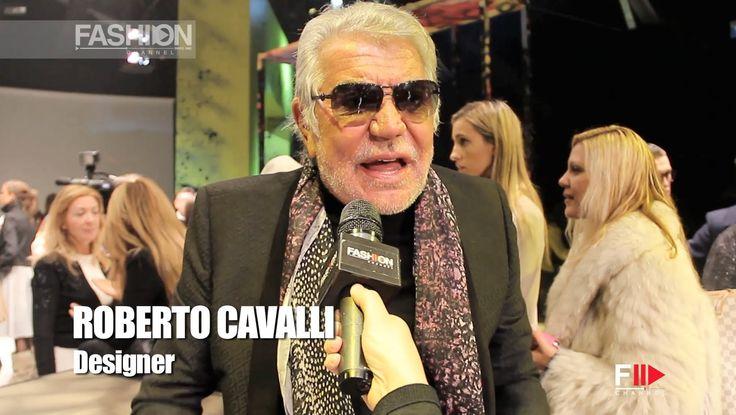 """ROBERTO CAVALLI"" Backstage Autumn Winter 2014 2015 Milan Menswear MFW b..."