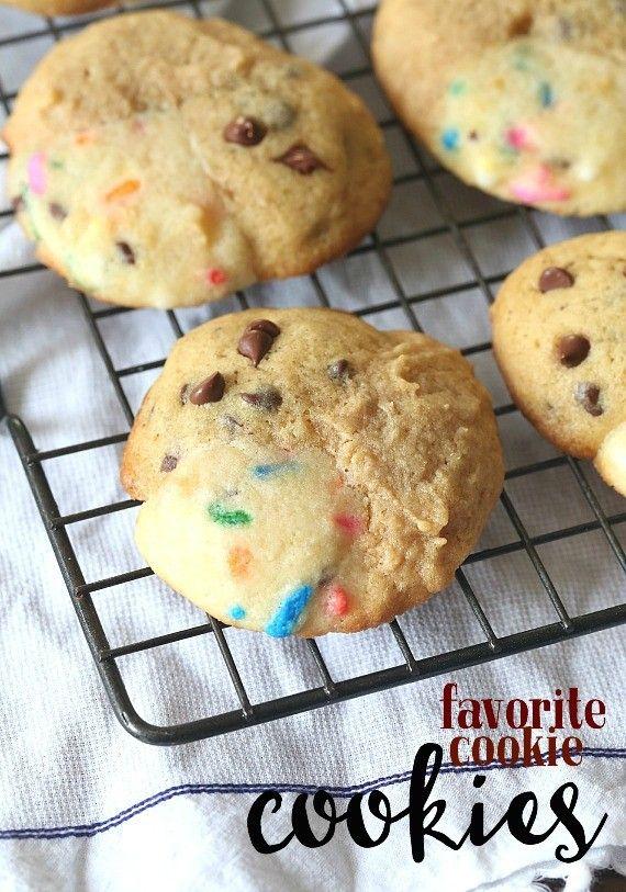 My Favorite Cookies Cookie... 3 cookies all in one!