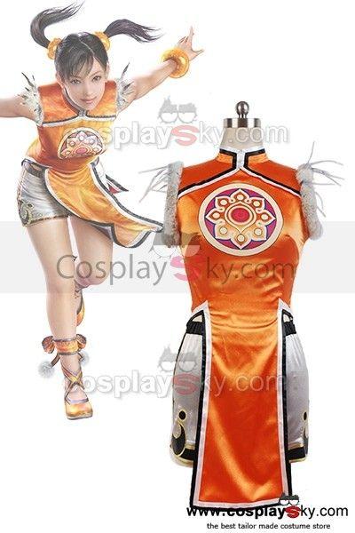 Tekken Ⅵ Ling Xiaoyu Cosplay Costume ---- Tekken Cosplay Costume | CosplaySky.com $70