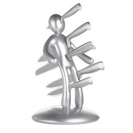 Este cepo de facas Voodoo/TheEX, assinado pelo deisgner italiano Rafaelle Iannelo. www.newtag.com.br |