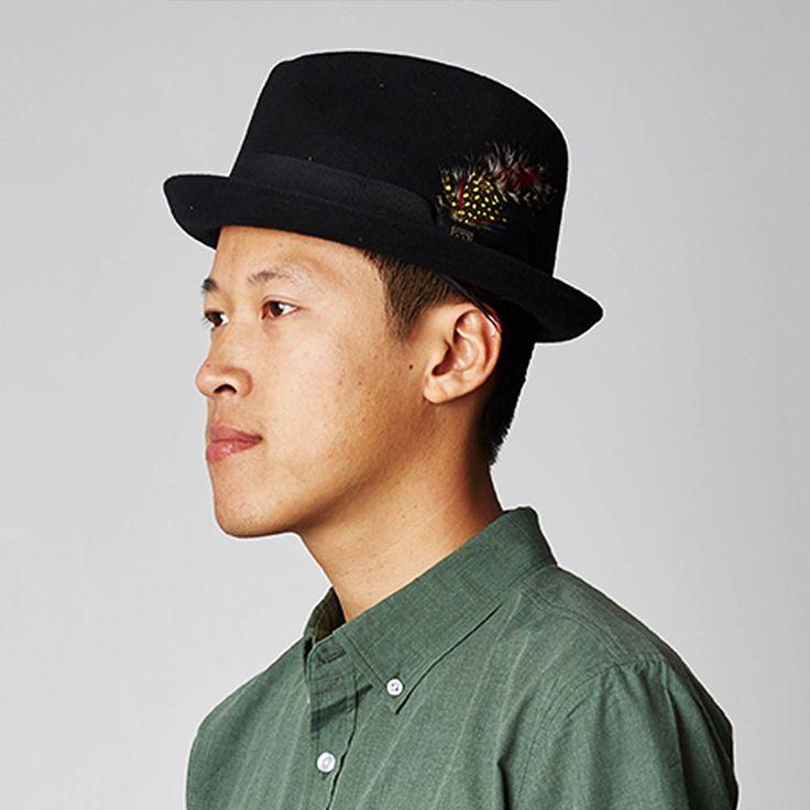 Brixton Hats Gain Trilby Hat - Black