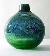 Vase by Benny Motzfeldt from Randsfjord Glassverk
