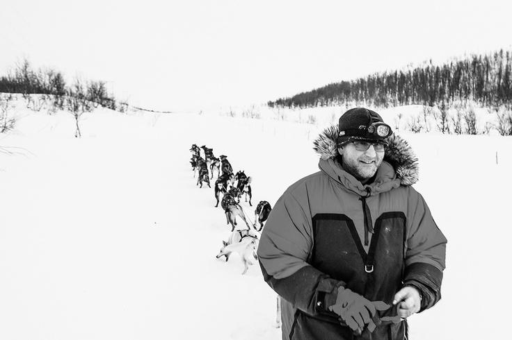 Dag Torulf on the mountain.