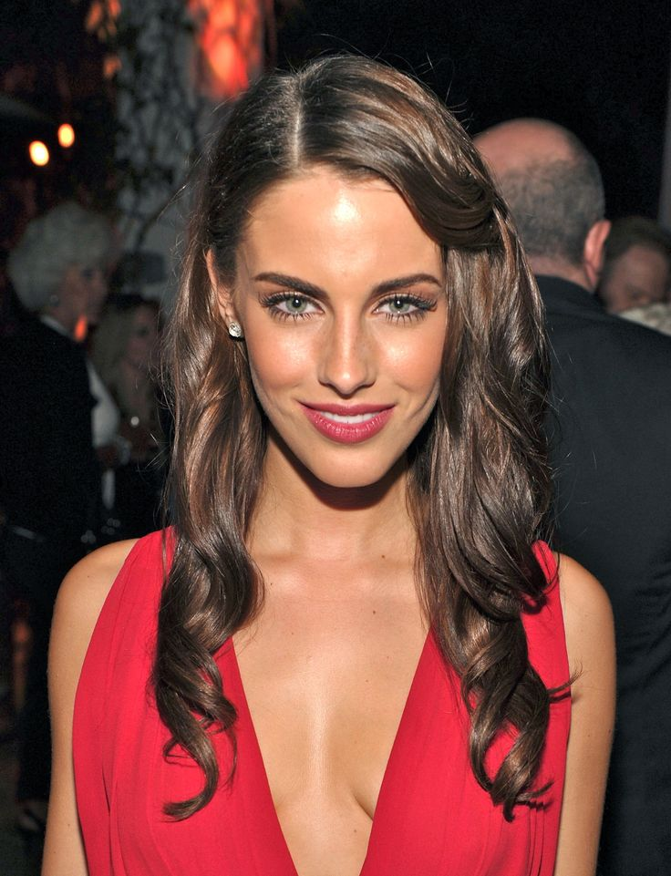 Jessica Lowndes brown hair