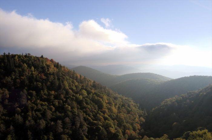 East_Fork_Overlook on the Blue Ridge Parkway in Virginia