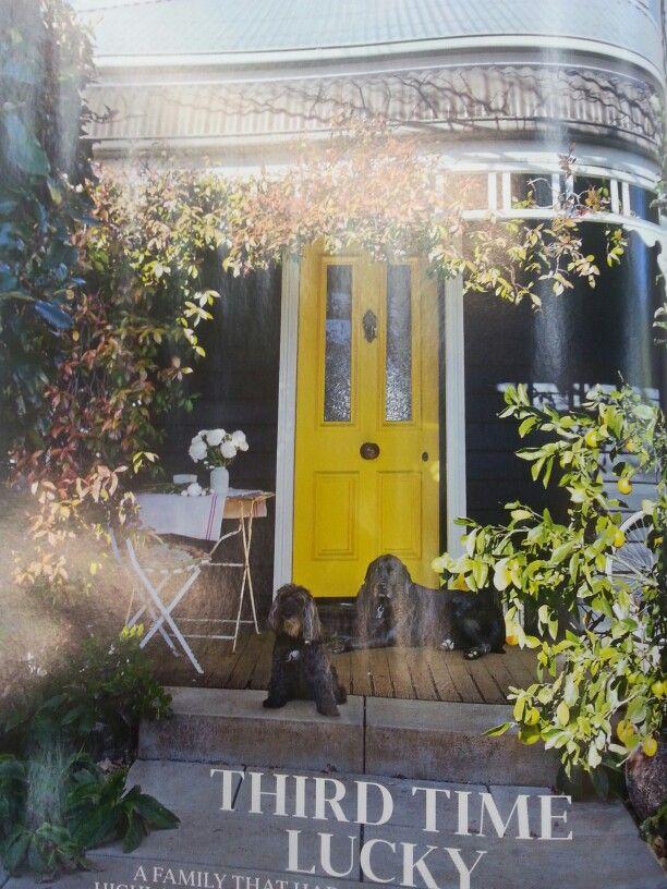 House Color Taubmans Black Fox Door Dulux Midas Touch