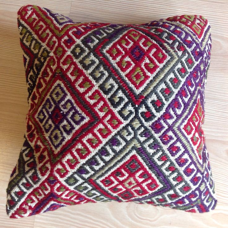 Kilim pillow cover  Handmade and wool