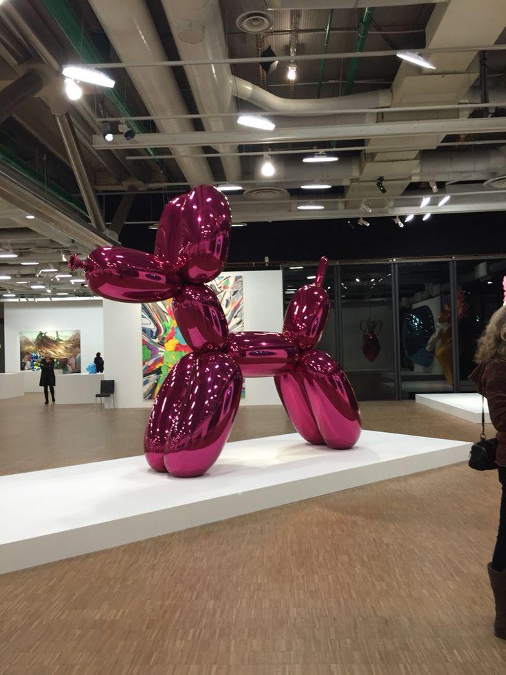 Expo Jeff Koons Paris Beaubourg