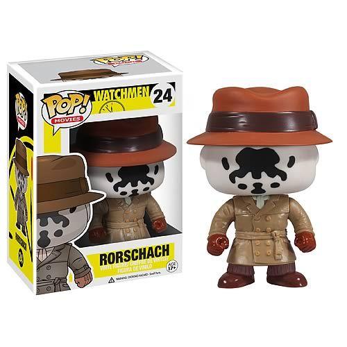 Watchmen Rorschach Pop Vinyl Figure Pop Vinyl And