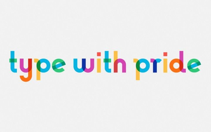 Type with Pride is a typography project with a loud, colorful message which celebrates life. The life of artist, LGBT activist and Rainbow Flag creator Gilbert Bakerwho passed awayon March 31, 2017. To honor his memory, NewFest and NYC Pride partnered with Ogilvy & Mather's design team and created a font inspired by the Rainbow Flag named 'Gilbert' for a man who was both an artist and an LGBTQ activist, known for helping friends create banners for protests and marches....