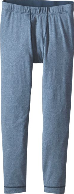 Patagonia Boy's Capilene Midweight Long Underwear Bottoms Glass Blue XXL