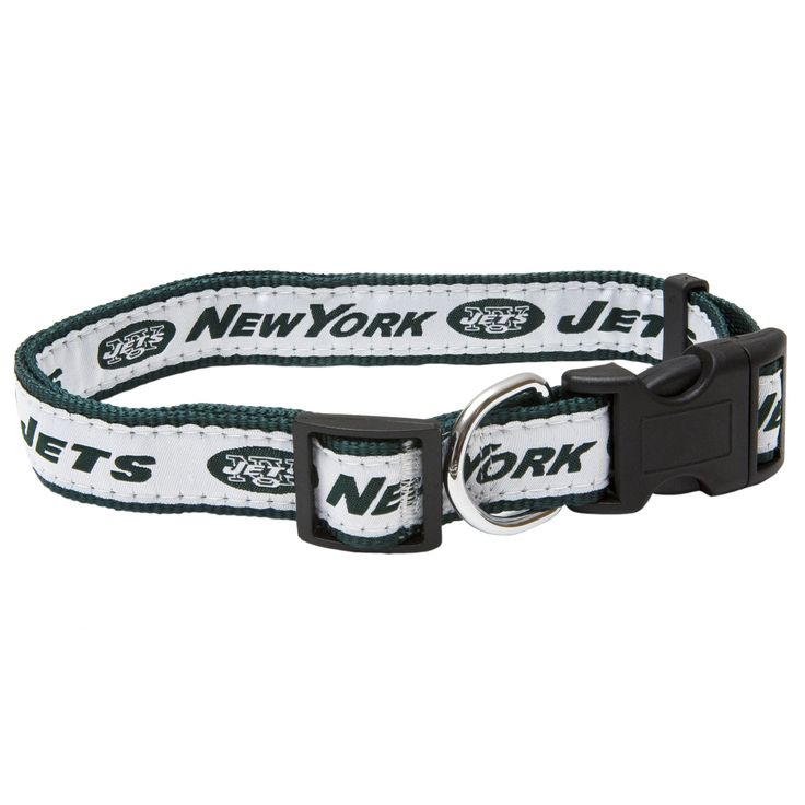 Pets First New York Jets Collar For Dogs For Dogs, Medium