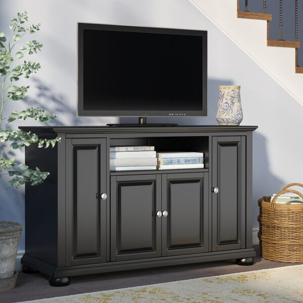 Hedon Solid Wood Tv Stand For Tvs Up To 50 Inches In 2020 Solid