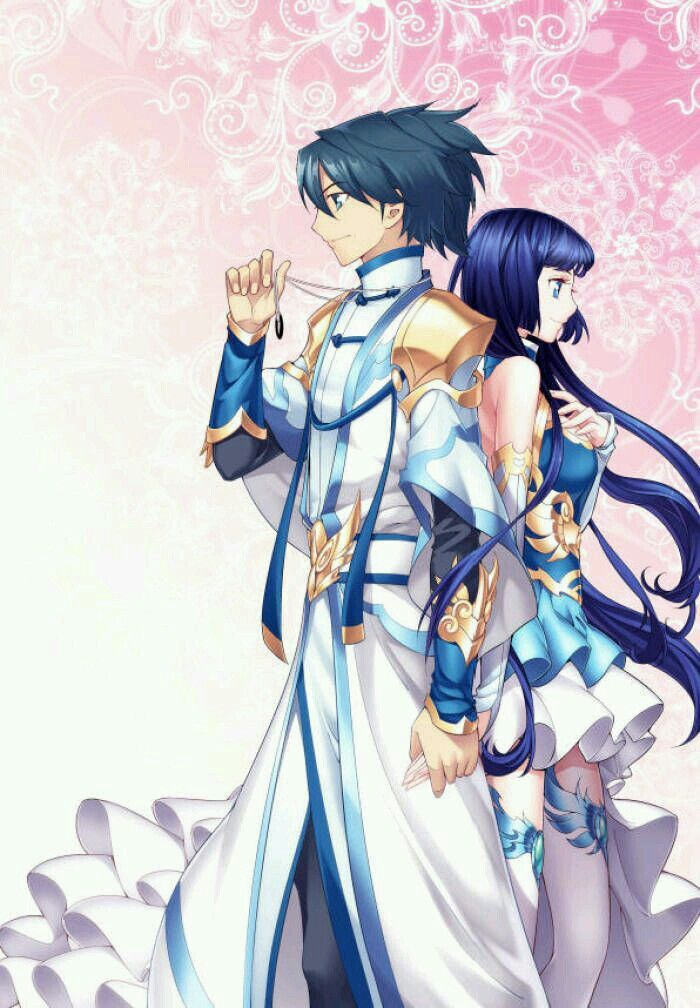 Xiao Yan and Xun Er Heaven wallpaper, Anime drawings