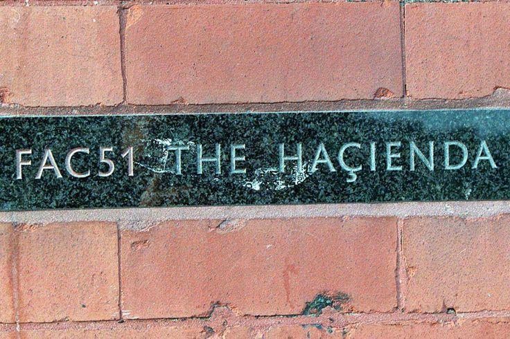 Hacienda sign - Manchester