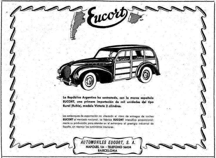 Eucort Victoria Rubia 1949