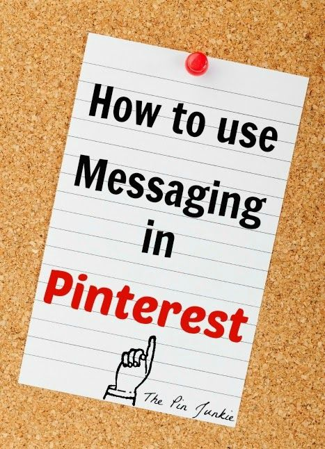ThePinJunkie.com/***PINTEREST--How-to-send-messages in Pinterest
