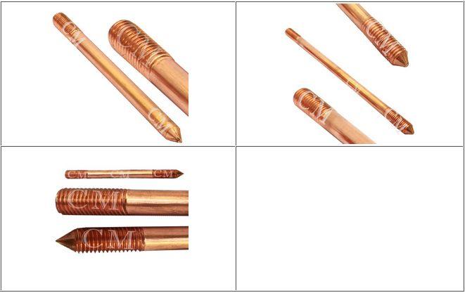 Copper Bonded Earthing Grounding Rods #CopperBondedEarthingGroundingRods