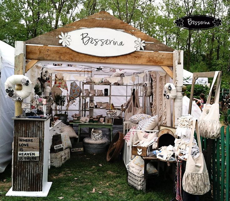 Craft Show Booth.