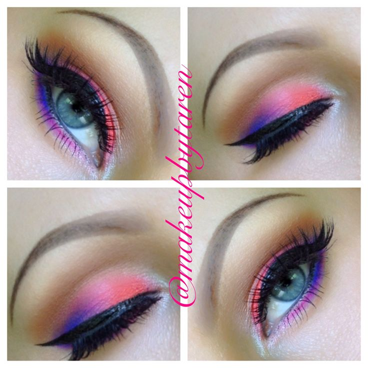 another look using the Urban Decay Electric palette  Instagram   makeupbytaren