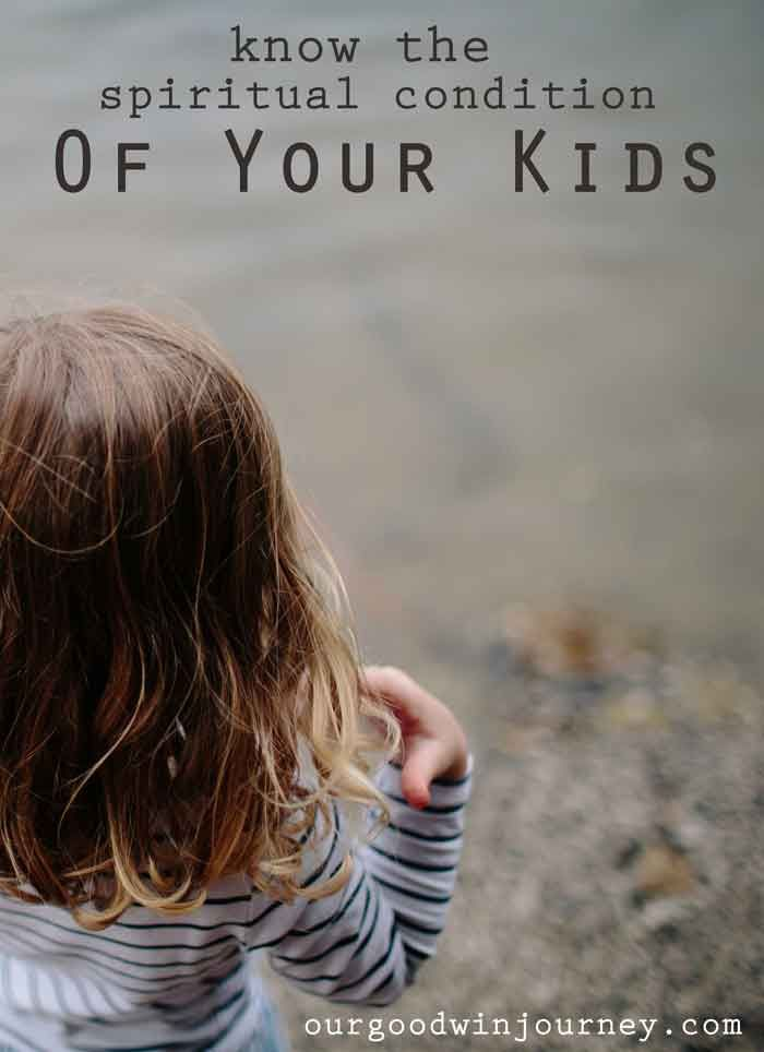 Do you know the condition of your kids? Do you know where they are at spiritually? A lesson from Proverbs 27 helps us know the condition of our kids.