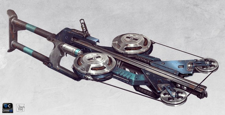 Crossbow, Guido Kuip on ArtStation at https://www.artstation.com/artwork/EXlNe