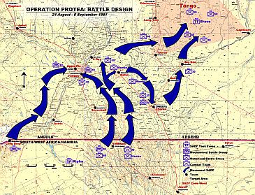 Operation Protea, August 1981