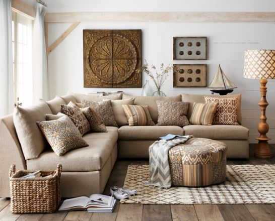 rustic natural wood living room - Google Search