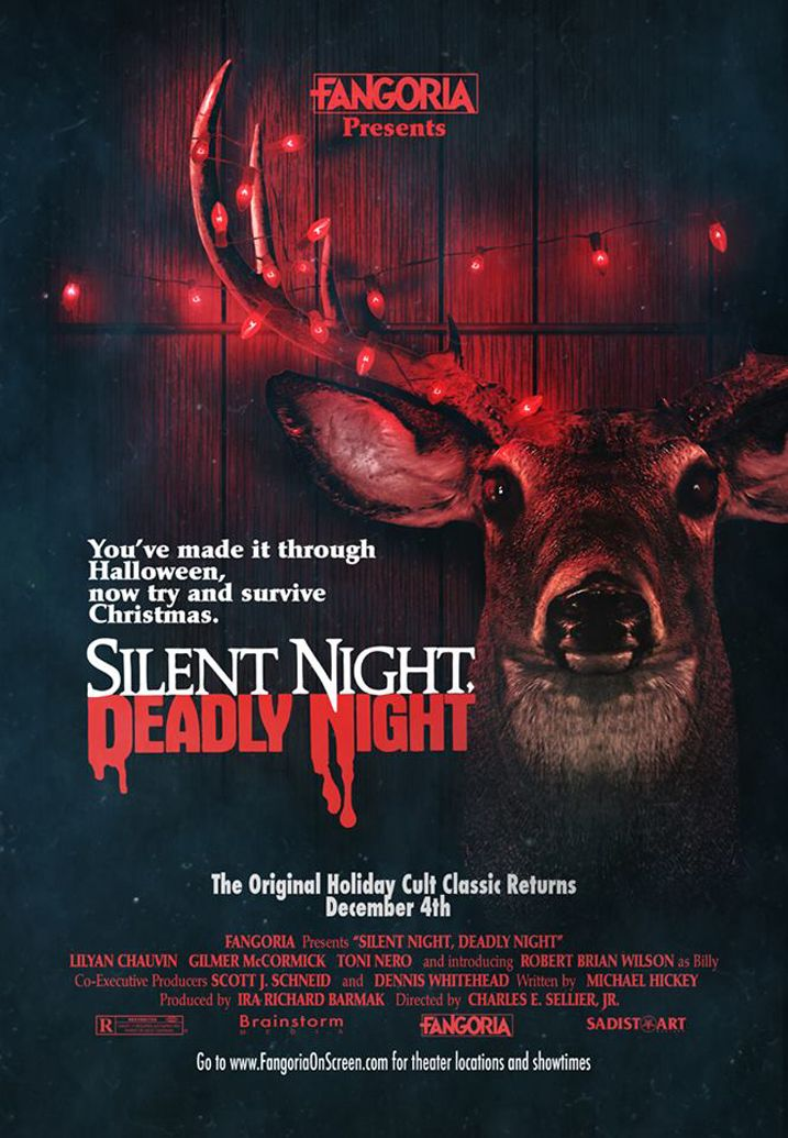 Silent Night Deadly Night Fangoria poster