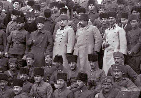 BOZKURTLAR Sakallı Nurettin Paşa - Mustafa Kemal Paşa - Kâzım Karabekir Paşa - Fevzi Çakmak Paşa