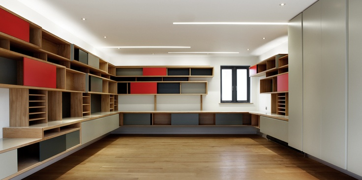 Hertfordshire barn - joinery for a film directors editing suite