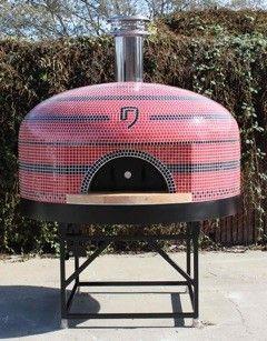 Forno Bravo Pizza Oven Napoli custom logo in tile