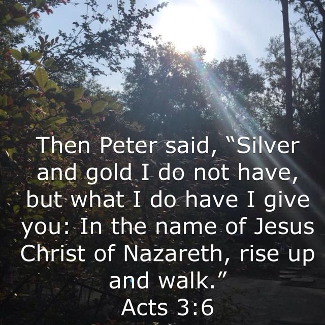 Image result for Silver and Gold I do not have kjv