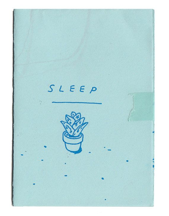 SLEEP mini zine