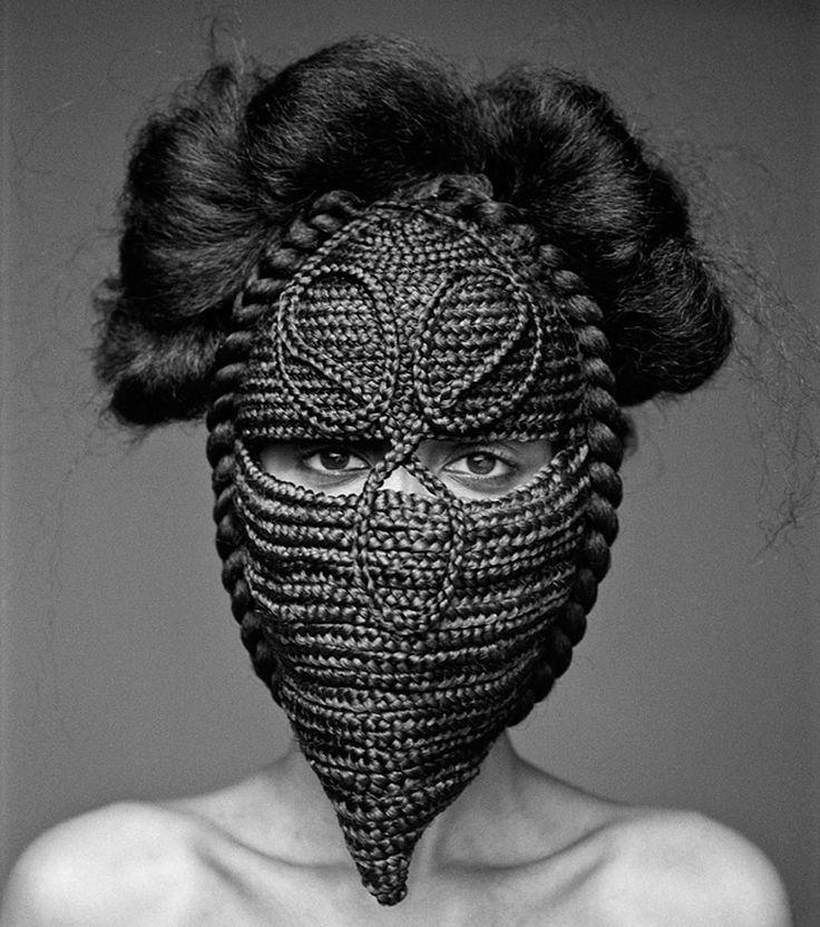 #textile  créations capillaires africaines et des perruques du 18ème siècle - joanne petitfrère