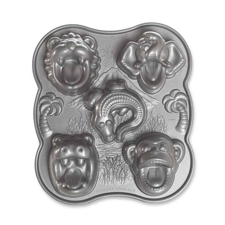 Nordic Ware Hungry Animals Cake Pan