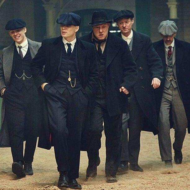 John, Tommy, Curly, Charlie & Arthur   Peaky Blinders