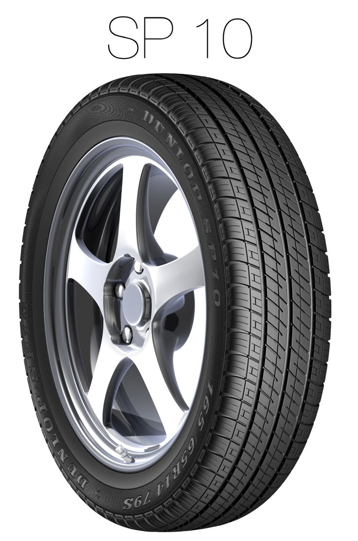 The Dunlop SP 10 offers a long tread life and a quiet drive.