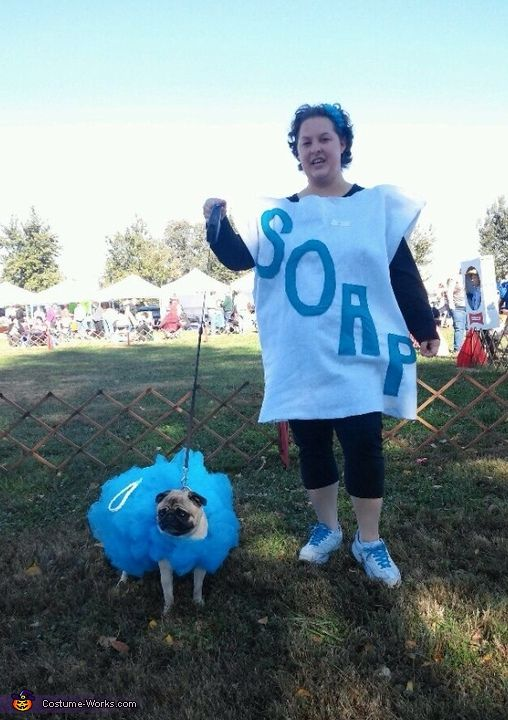 Soap and Loofah Costume - Halloween Costume Contest via @costume_works