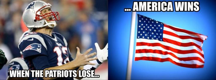 Patriots lose, America wins