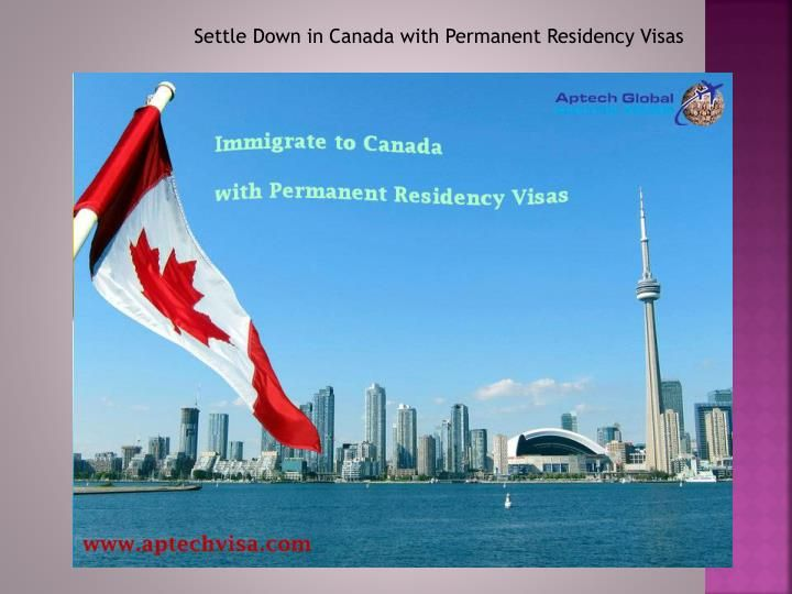Permanent Residency in Canada applies to those who are not Canadian citizens but who have been granted  permission to live and work in Canada without any time limit on their stay. A permanent resident must live in Canada for two years out of every five .