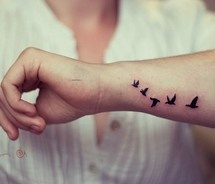 birds tatto