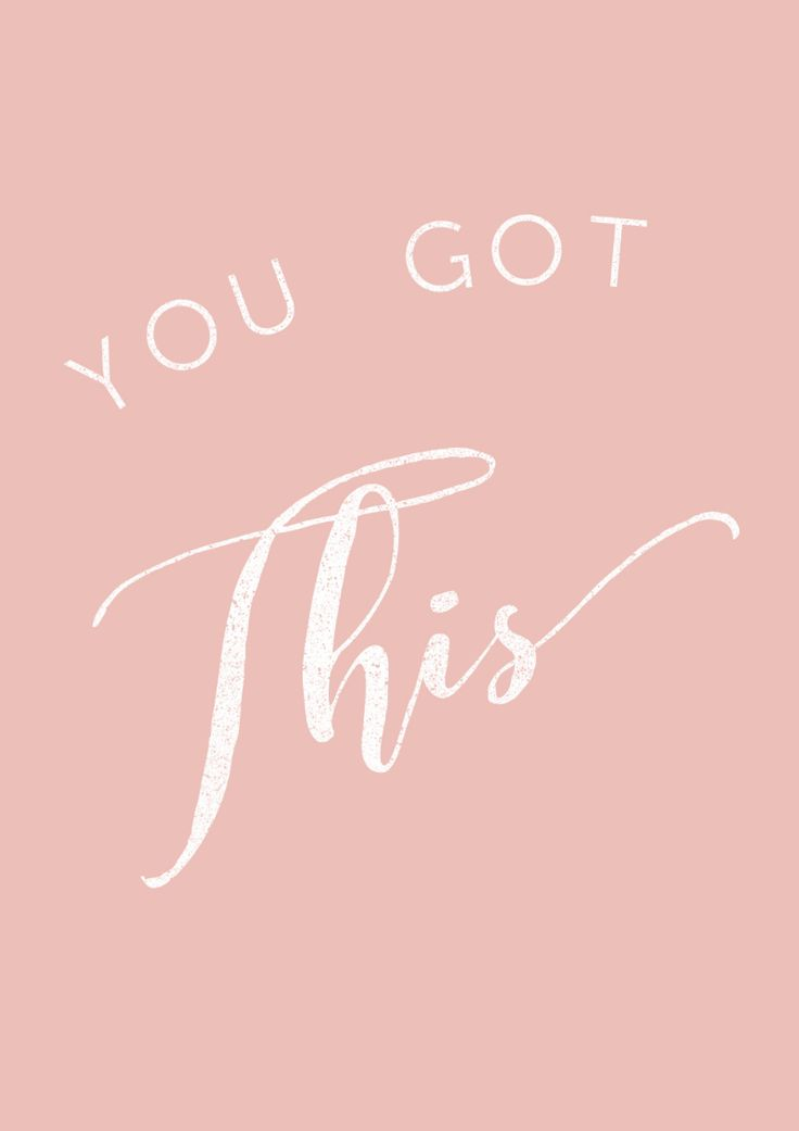 You got this Girl! Go for it! Women supporting women Quote-pinterest | We become what we think