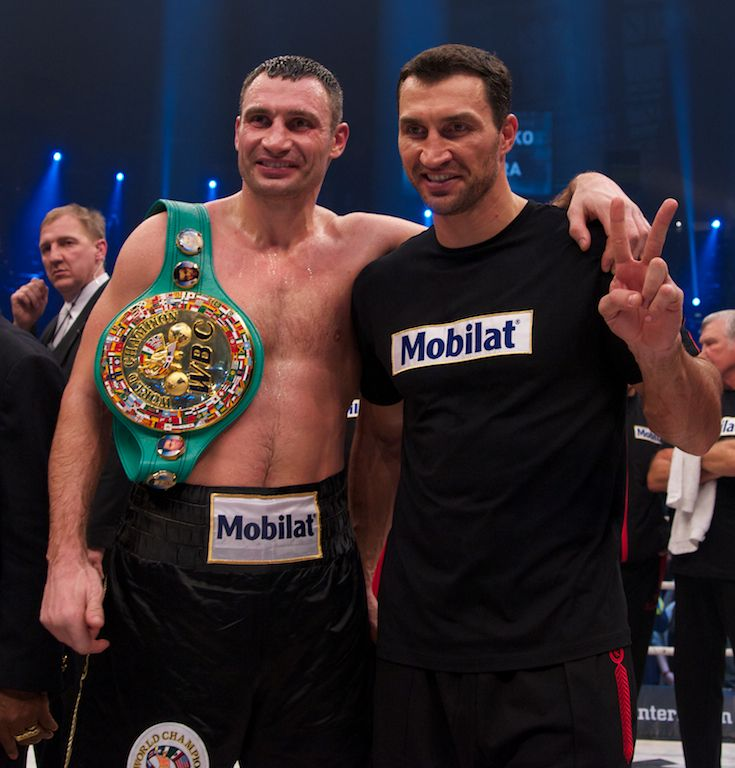 Kämpfe: Official Website of Vitali & Wladimir Klitschko